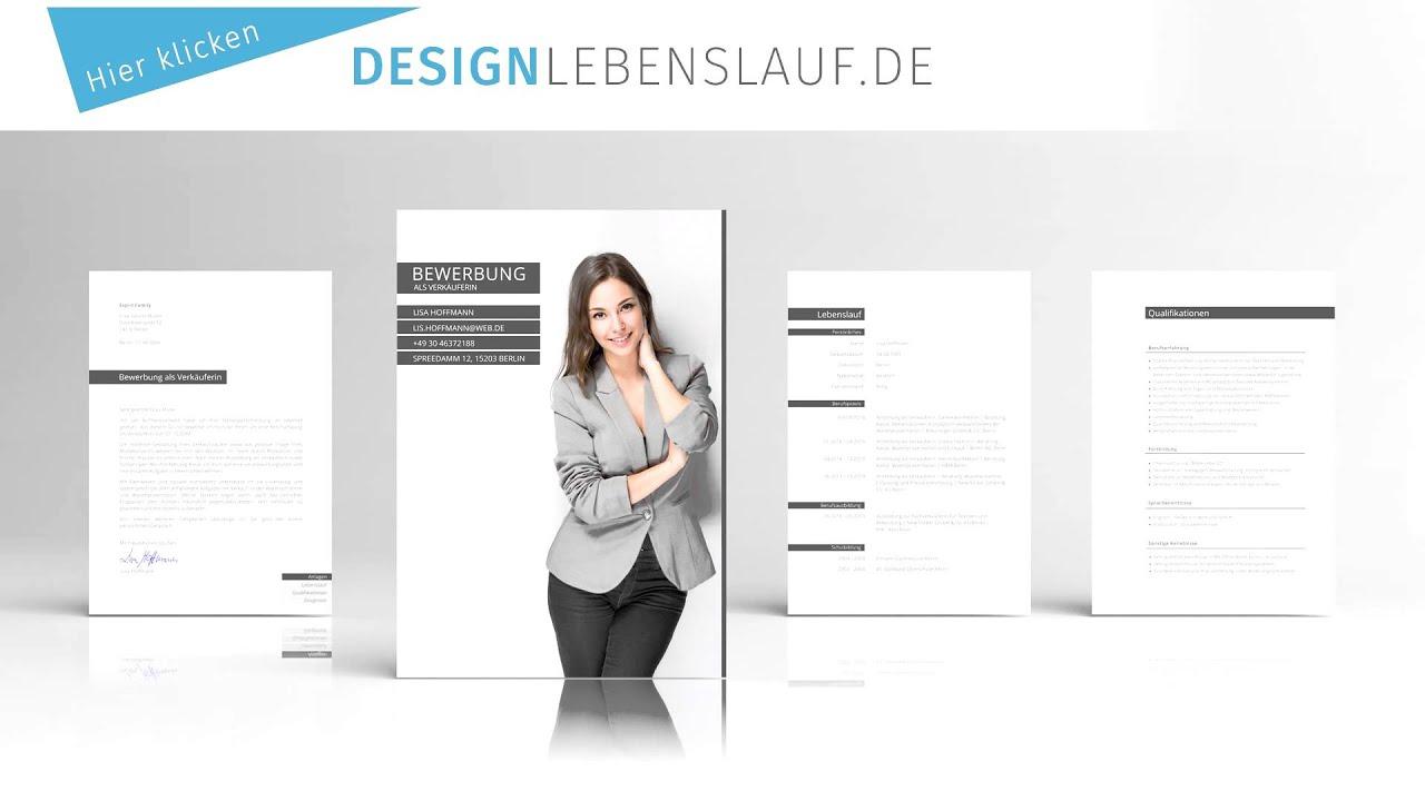Bewerbung Bankkauffrau   Design Mustervorlage mit Deckblatt