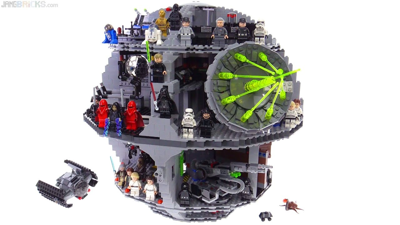 LEGO Star Wars Death Star review! 75159 - YouTube