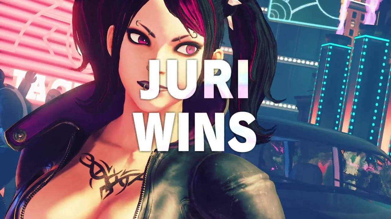 Street Fighter V: Gothic Juri and Sparring Chun-Li [Mods