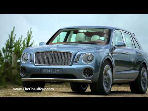 Bentley EXP 9 F Limo Concept July 2012