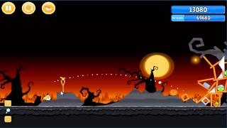 Angry Birds trick or treat 3 Estrellas instancia de parte 3-12
