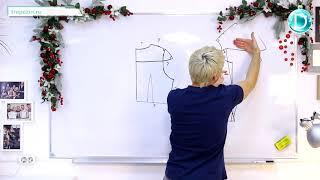 Практический урок №52. Костюм снегурочки. Создание (моделирование) лекал.