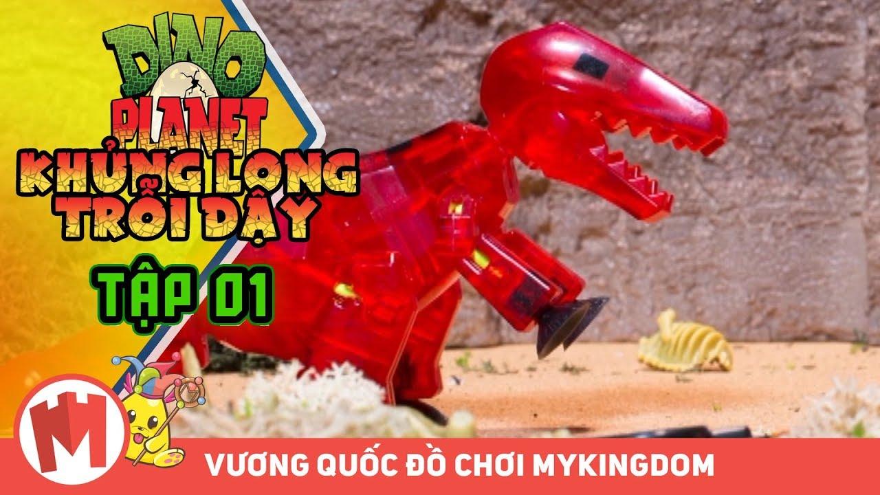 KHỦNG LONG TRỔI DẬY DINO PLANET | Tập 01 – Phim Hoạt Hình Vui Nhộn