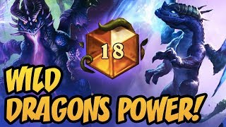 Wild Dragons Power  Rastakhan's Rumble  Hearthstone