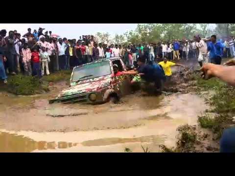 mud rally Bhopal 2014 SAUD KHAN SOHAIL KHAN