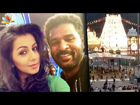 Prabhu Deva, Nikki Galrani to shoot marriage in Tirupati | Hot Tamil Cinema News