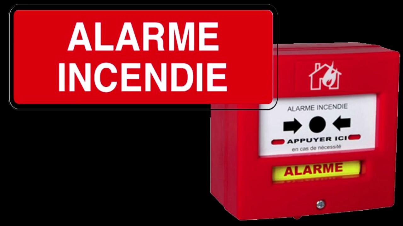 bruitage alarme incendie