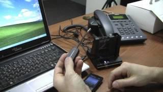видео Plantronics Savi W440 — беспроводная DECT-гарнитура для компьютера