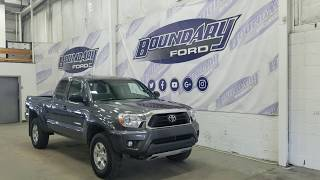 2015 Toyota Tacoma 4.0L V6 Access Cab W/ Touch Screen, 4WD, Reverse camera Overview | Boundary Ford