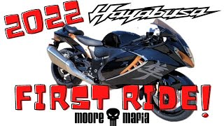 2022 Hayabusa Unboxing and FIRST Test Ride