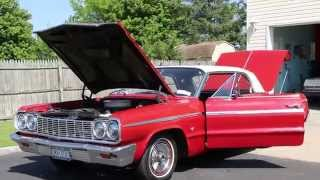 1964 Chevrolet Impala SS For Sale~Matching Numbers 327~Automatic~Super Straight Beautiful Car!!