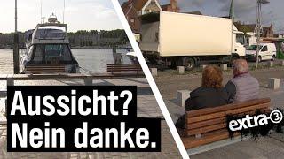 Realer Irrsinn: Die Bänke von Travemünde | extra 3 | NDR