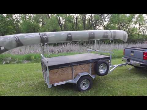 Remackel Trailers-- Canoe Trailer or Kayak Trailer