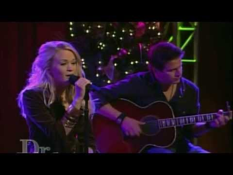 Carrie Underwood - Have Yourself A Merry Little Christmas (Live 2005) at Dr. Phil Show