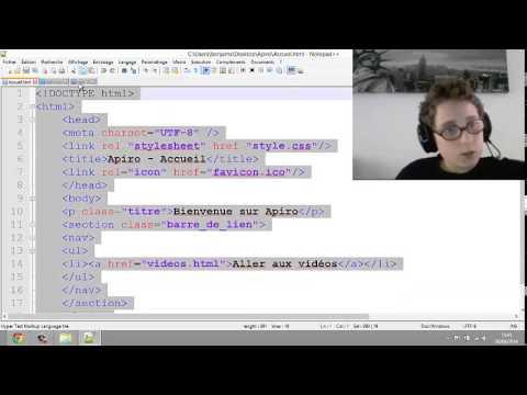 Html,css (champ Texte,couleur De Texte, Fond D'écran, Vidéo Sur Son Site)