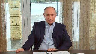 Путин провел встречу со студентами