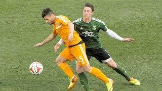 HIGHLIGHTS: Houston Dynamo vs. Portland Timbers | February 5, 2014