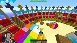 WIELKA RYWALIZACJA PARKOUR NA SERWERZE! | Minecraft Vertez & Michimi
