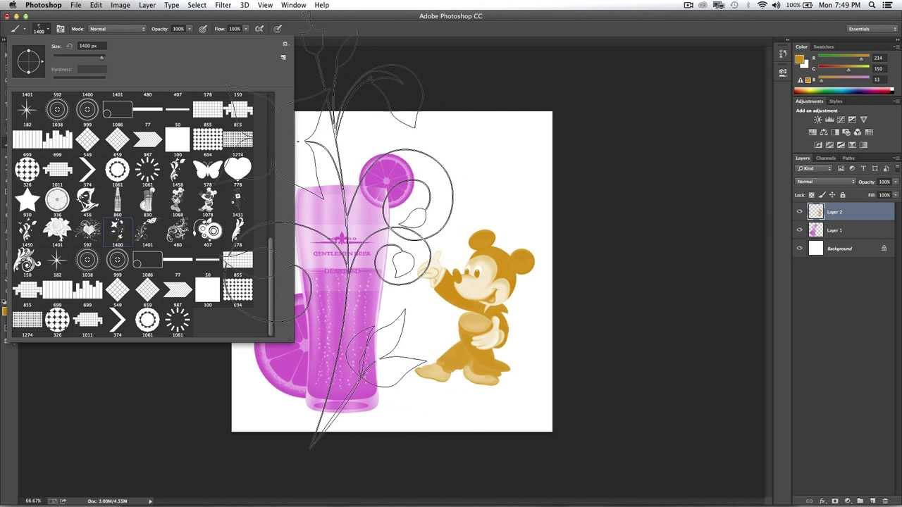 10 Free Photoshop Brushes and How to Install