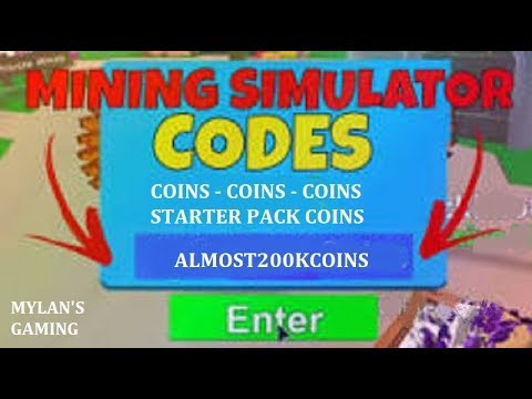 Roblox Mining Simulator Coin Codes New