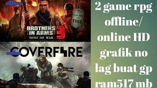 2 game terbaik rpg di hp android grafik HD/game offline dan online #by REV game619