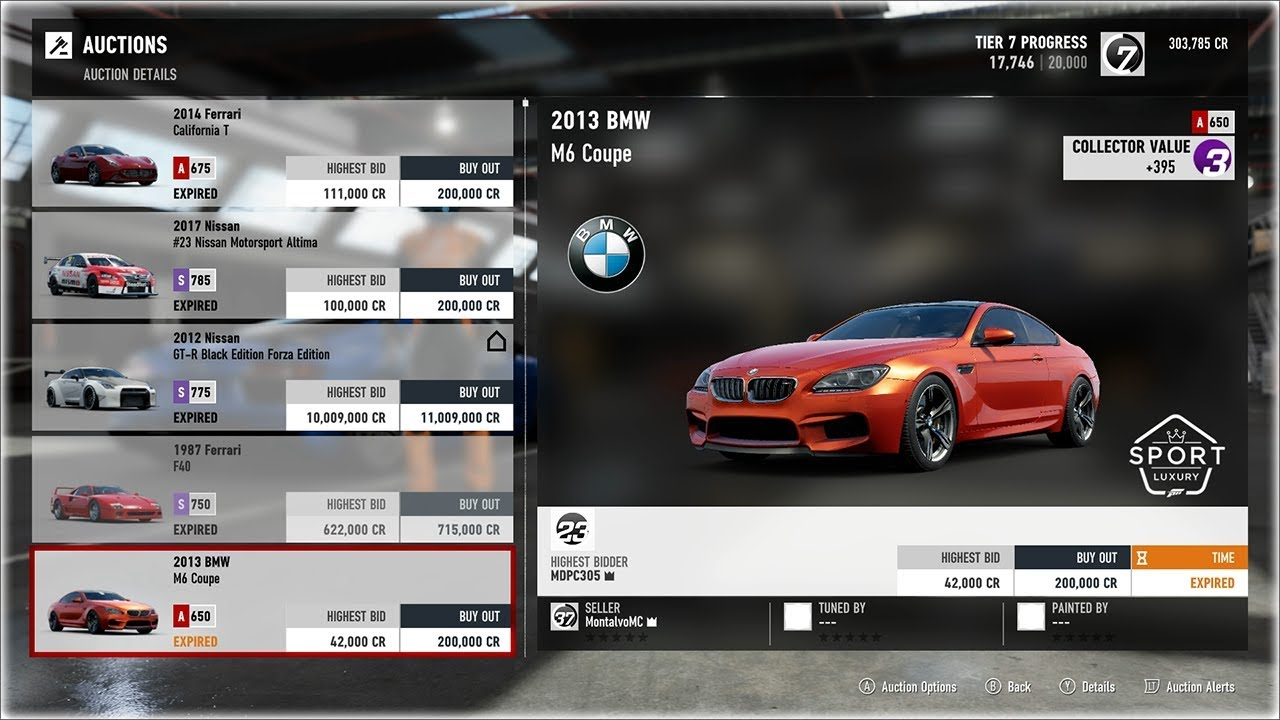 Forza Motorsport 7 - AUCTION HOUSE is LIVE! Auction House Tips - Forza  Motorsport 7 Tips