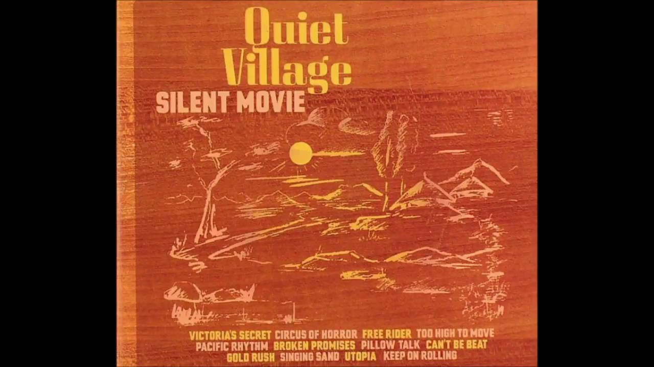 SILENT MOVIE (LP) [K7225LP] - QUIET VILLAGE - !K7 (GER