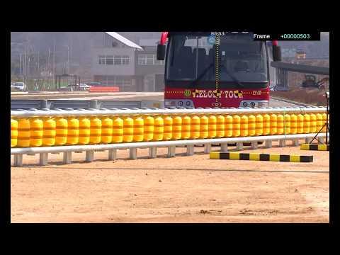 ETI Roller Barrier System CE H1,H2 Crash test