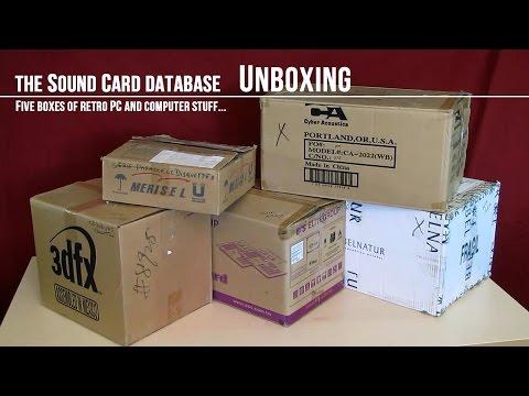 Five Boxes of Retro PC Stuff (Unboxing)