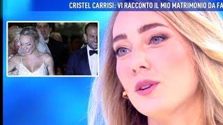DOMENICA LIVE CRISTEL CARRISI LA MIA NUOVA VITA DOPO IL MATRIMONIO
