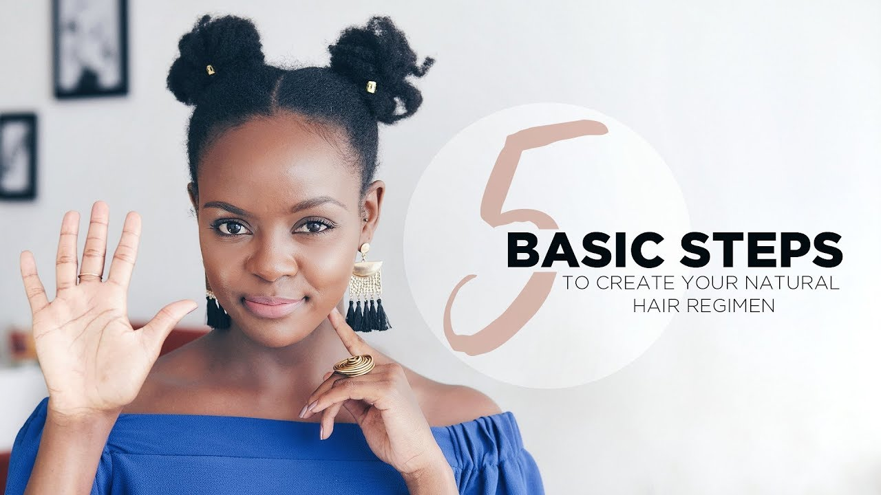 Natural Hair Steps To Help You Create Your Own Natural Hair