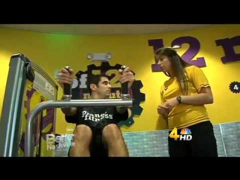 Adam Wurtzel Trains at Planet Fitness - YouTube