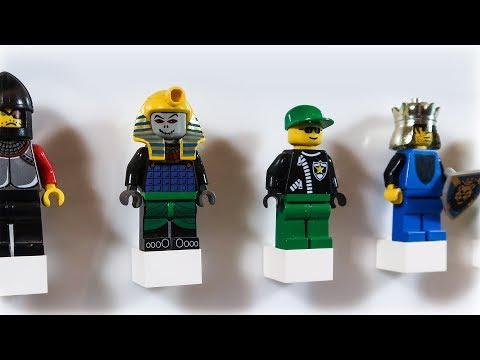 DIY Lego Minifigure Display Case