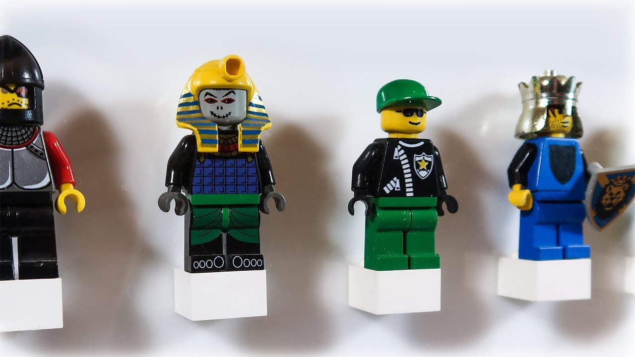 Lego Minifig Camera : Diy lego minifigure display case youtube