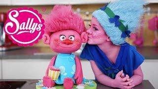 The Trolls Motivtorte / Fondant Cake 3 D