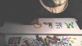 Artist from Santa Monica Pier