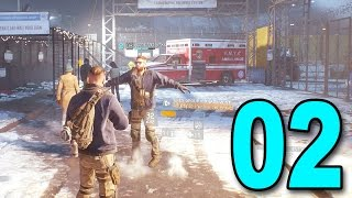The Division - Part 2 - First Mission as a Squad (Let's Play / Walkthrough / Playthrough)