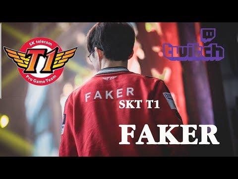 SKT T1 Faker Live Stream 17/7/2019   Hide on bush   SK텔레콤 T1 / SK Telecom T1