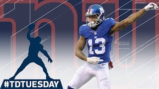 Odell Beckham Jr. TD Celebration Mixtape! | #TDTuesday | NFL