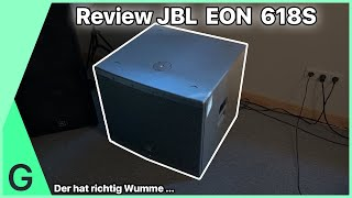 JBL EON 618S Review und Test