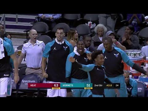 2nd Quarter, One Box Video: Charlotte Hornets vs. Miami Heat