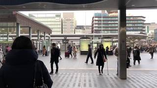 My First Osmo mobile 2 with iPhone X in Kyoto Station thumbnail