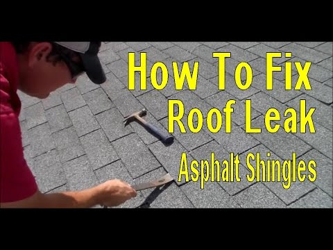 How To Fix Roof Leak In Asphalt Shingles