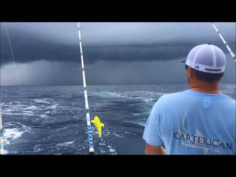 Offshore Fishing on the Carterican 7-11-17