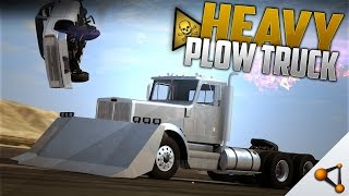 Heavy Plow Truck! - BeamNG.Drive [Crashes & Flying cars! - DOWNLOAD - HD]