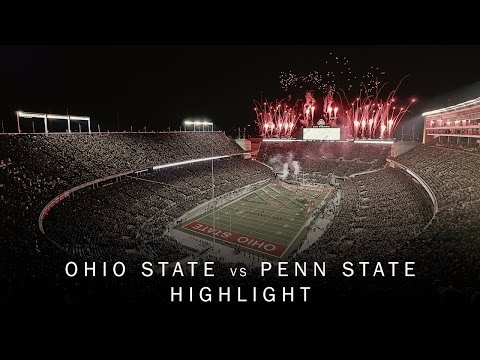 Ohio State Football: Penn State Highlight