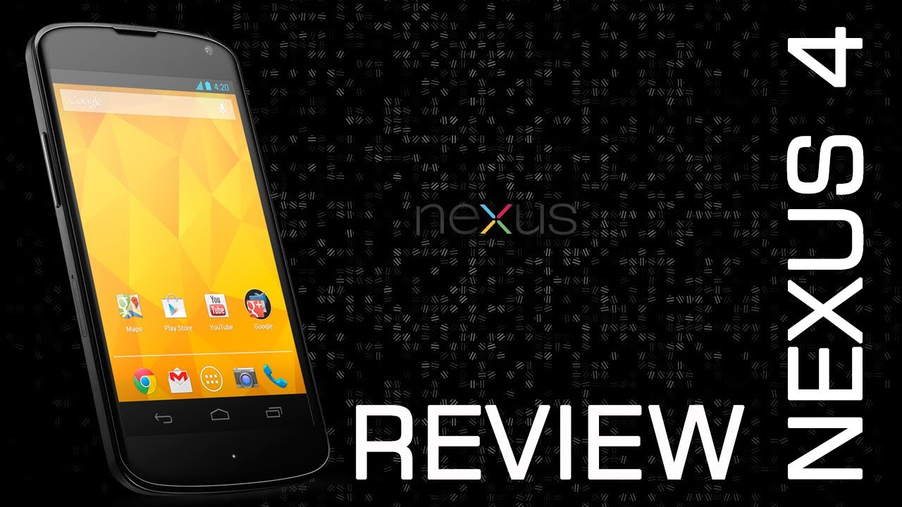 Google LG Nexus 4 Review W/ Android 4.2.1