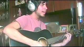 Leonardo Centeno - Con la frente marchita (Sabina cover) grabación casera en vivo