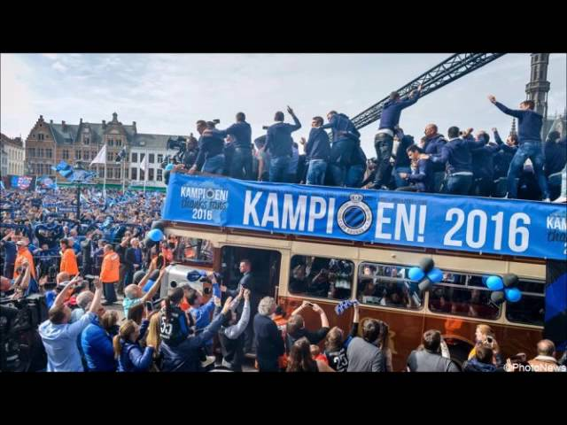 Club Brugge song:  come on fcb