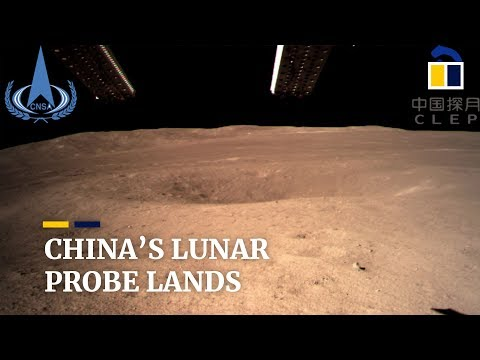 Randy Rose - China Lands On Dark Side Of The Moon